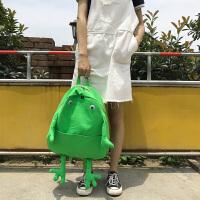 可爱书包女韩版 高中学生简约百搭 双肩包背包