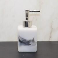 欧式简约水墨卫浴五件套 卫生间浴室用品套件牙具漱口杯洗漱套装