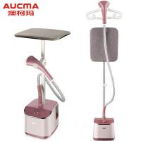 澳柯玛(AUCMA)挂烫机家用 熨斗 蒸汽熨衣机 单杆带板手持熨烫机 电熨斗 八档旋钮调节款 AGT-18L07