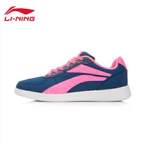李宁休闲鞋女鞋运动生活系列KM轻便休闲板鞋滑板鞋运动鞋ALCK072