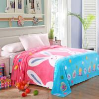 【床单薄毯两用】毛绒毯子床单人双人薄毯毛巾被加厚毛毛床单单件