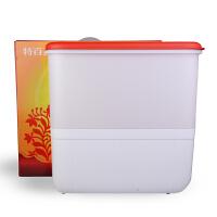 特百惠米仓塑料米桶储米箱防潮防虫 家用面粉桶10kg装米桶