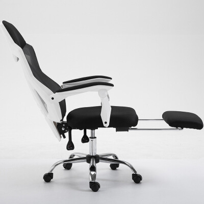 家用电竞椅学生宿舍靠背椅子舒适网布转椅可躺办公