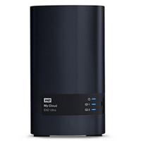 WD/西部数据 My Cloud EX2 Ultra系列云存储 16T网络硬盘16TB NAS WDBVBZ0160J