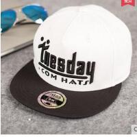 女韩版潮嘻哈街舞平沿星期帽 棒球帽潮流 街头鸭舌帽