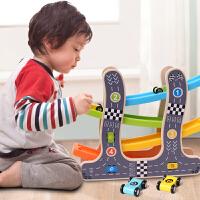 滑翔车轨道车玩具儿童小汽车宝宝益智3-4岁男孩滑行车小车1-2