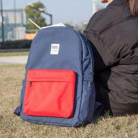 【单件包邮】得力69452中小学生男女用双肩书包减负时尚简约大容量