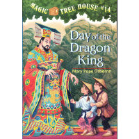 Magic Tree House #14:Day Of The Dragon-King 神奇树屋14:古墓惊魂 978