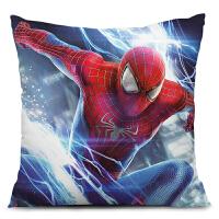 蜘蛛侠2电影动漫卡通海报周边抱枕靠枕被创意生日礼物图定制礼物