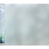 隔热玻璃贴膜 带胶窗户玻璃贴纸透光不透明卫生间遮光卧室窗贴阳台防晒隔热贴膜S 自粘纯磨砂 90x500cm