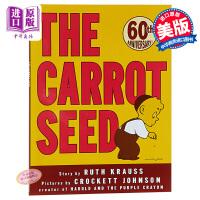 【中商原版】凯迪克:胡萝卜种子60周年纪念版 英文原版 The Carrot Seed
