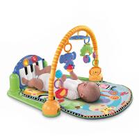 费雪琴琴健身器 婴儿健身架含音乐钢琴健身器W2621 早教益智玩具