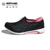 诺诗兰春夏户外女士休闲运动时尚潮流徒步鞋防滑耐磨FT072012