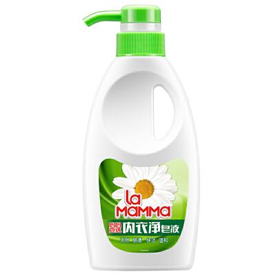 妈妈壹选内衣皂液瓶装300g郎平代言,冠军之选,一次漂清洗护合一