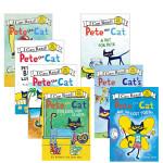 顺丰发货 pete the cat 皮特猫 7本儿童英文绘本套餐Play Ball! A Pet for Pete M