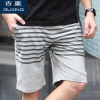 古星夏季男士运动短裤休闲拉链口袋五分裤中裤篮球跑步健身裤