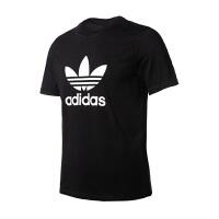 Adidas阿迪达斯 男装 2018新款三叶草运动休闲透气短袖T恤 CW0709