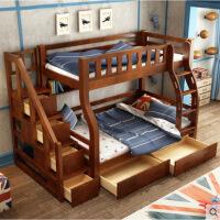 实木儿童床松木铺高低床子母床双层床床床宿舍床
