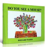 汪培�E推荐英文书单阶段绘本 Do You See a Mouse? 亲子启蒙读物 Bernard Waber经典英文原