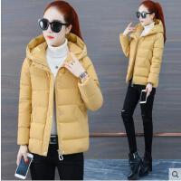 冬季新款韩版时尚宽松小个子加厚棉袄外套潮短款羽绒棉服女