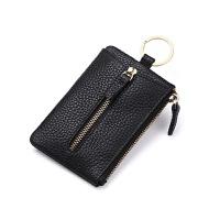 多功能钥匙包男士腰挂锁匙包女牛皮钥匙袋大容量卡包零钱包