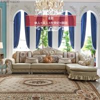欧式布艺沙发组合转角贵妃小户型L型客厅法式沙发G2 组合