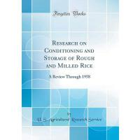 【预订】Research on Conditioning and Storage of Rough and Mille