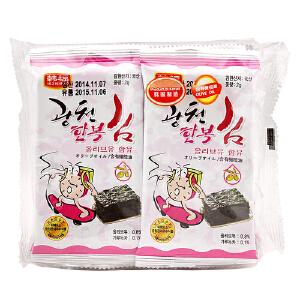 韩国进口 韩福10.2 烤紫菜 16g