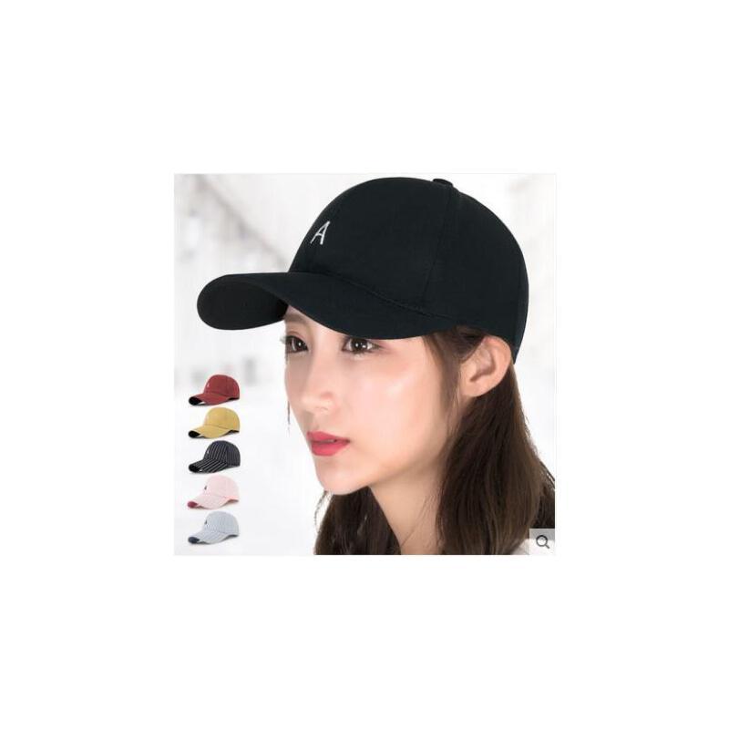 帽子女韩版潮棒球帽青年街头百搭鸭舌帽太阳帽户外休闲帽