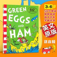 Green Eggs and Ham 苏斯博士绿色系列:新鲜的鸡蛋和火腿 汪培�E廖采杏吴敏兰推荐书目英文原版绘本 送音频