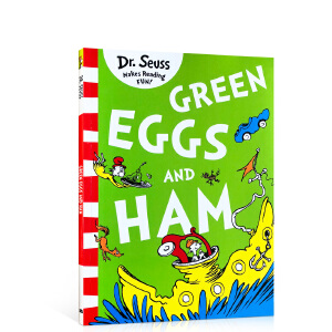 新版 Green Eggs and Ham 苏斯博士绿色系列:新鲜的鸡蛋和火腿 汪培�E廖采杏吴敏兰推荐书目英文原版绘本 送音频