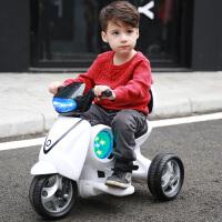 儿童电动摩托车宝宝充电动三轮车1-3-6岁儿童玩具车可坐人