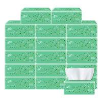 清风抽纸家庭装卫生纸餐巾纸批发包邮办公室抽纸3层整箱发货 18包