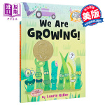 小猪小象爱阅读 成长的故事 英文原版 We Are Growing! 精装 莫威廉斯 3-8岁