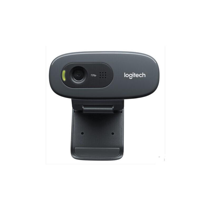 Logitech/罗技 C270 HD 720p免驱高清电脑摄像头 内置带麦克风 (直销)HD高清摄像头 多色可选 自动调焦