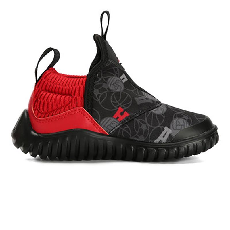 【到手价:221.4元】阿迪达斯(adidas)童鞋男女童新款儿童海马训练鞋一脚蹬运动鞋G28456 黑/红