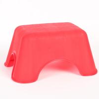 大贸商 塑料凳子 时尚小板凳 排队凳 红绿色便携凳 HH30064