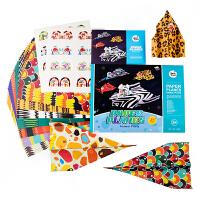 儿童手工diy制作纸飞机立体手工折纸宝宝动手玩具3-4-5-6岁