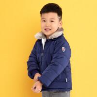 加菲宝贝 GAFFEY KITTY男童短款棉衣冬装GKCA7059