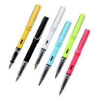 光奇菱美CEO钢笔EF69 学生用书写练字铱金笔 墨水墨囊钢笔