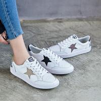 【掌柜推荐】ZHR2019春季新款韩版小脏鞋女平底小白鞋百搭休闲鞋单鞋学生女鞋