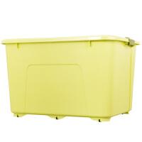 特大号收纳箱塑料棉被衣物整理箱有盖家用学生书箱储物收纳盒