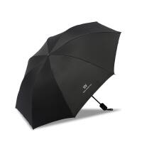 防晒雨伞防紫外线大号 雨伞大号折叠卡通小清新太阳伞防晒防遮阳伞女神晴雨两用L UV黑色