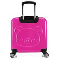 儿童拉杆箱万向轮旅行箱可爱卡通行李箱男女小学生18寸 18寸
