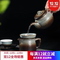 景德镇茶具 茶具套装复古家用景德镇陶瓷复古功夫茶杯茶壶办公室高档礼盒装 图片色