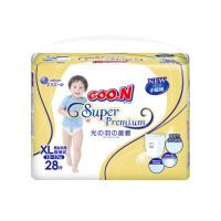 GOO.N大王 短裤式纸尿裤 光羽系列 XL28片(12-17kg)婴儿柔软透气男女通用尿不湿