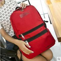 双肩包 旅行包 背包 女韩版时尚女士双肩女包包休闲学院风书包旅行背包
