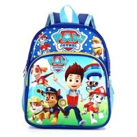 汪汪队小猪佩奇新款韩版儿童书包男女生可爱中儿童宝班幼儿园双肩背包儿童卡通书包背包3-5岁