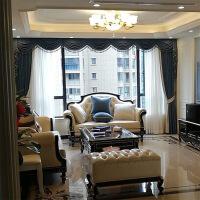 轻奢沙发大户型欧式沙发 新古典实木123大户型客厅简欧轻奢美式家具