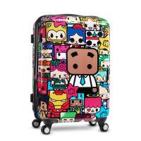 拉杆箱 旅行箱万向轮 登机行李箱 TSA密码锁 硬箱 盒子世界
